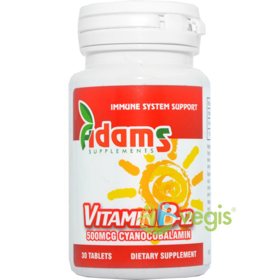 Vitamina B12 500mcg 30tb