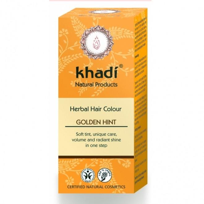 Vopsea Henna Khadi - Blond Auriu