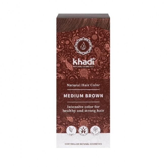 Vopsea henna Khadi - Saten Mediu, 100 g