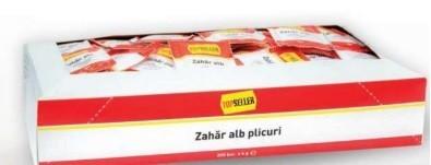 Zahar Alb, Plicuri 300x4g