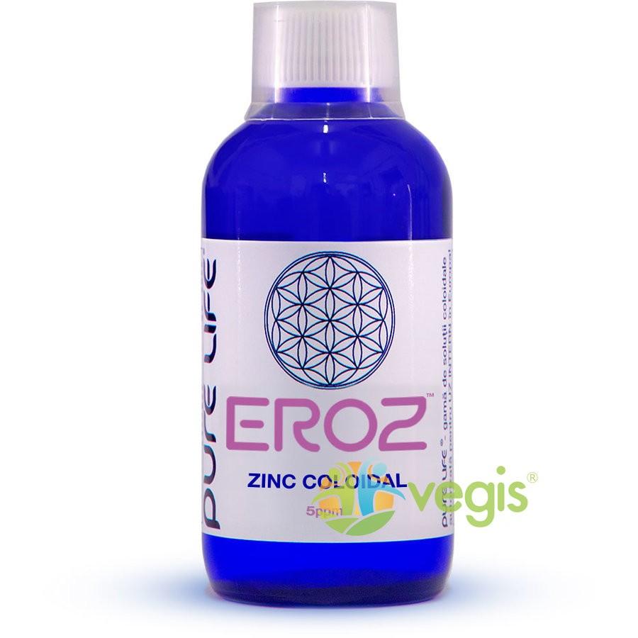 Zinc coloidal M+ EROZ 5ppm 240ml