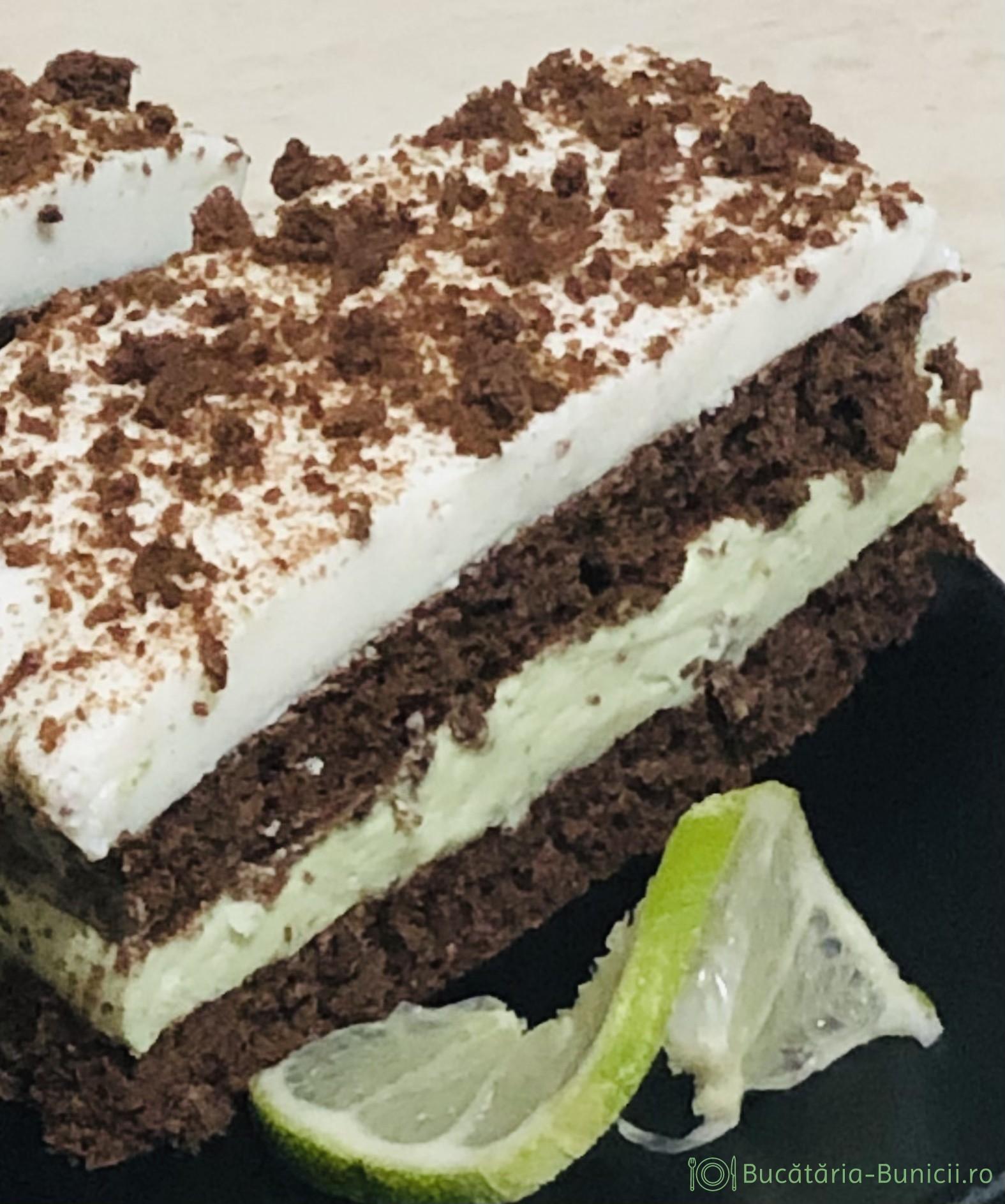 Prăjitura cu avocado și limetă