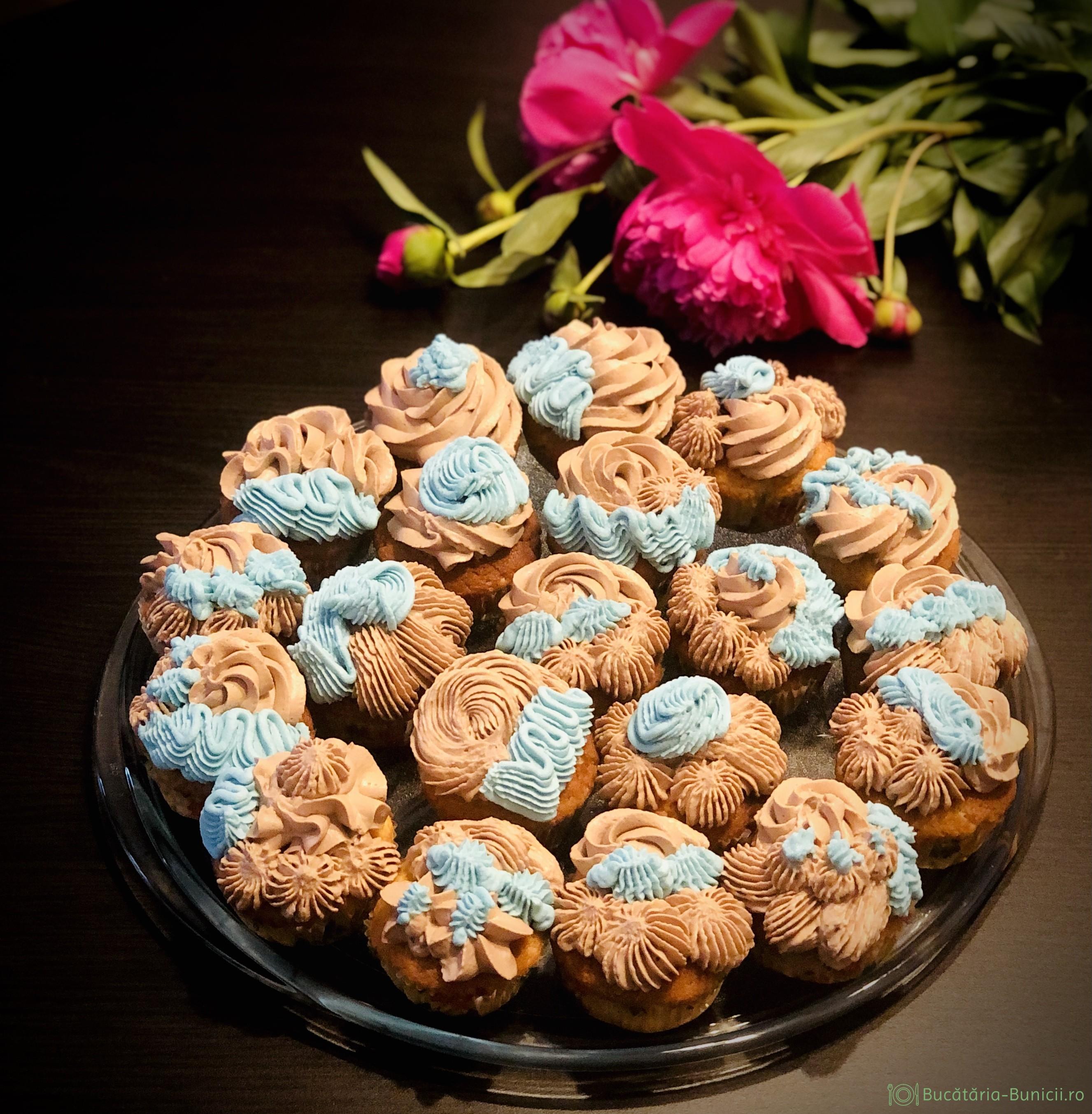 Cupcakes cu nutella
